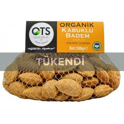 OTS - Organik Kabuklu Badem 500gr
