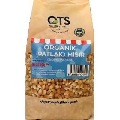 OTS Organik Popcorn(Cin Mısır) 750gr