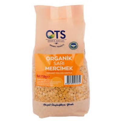 Ots - Organik Sarı Mercimek 750 gr