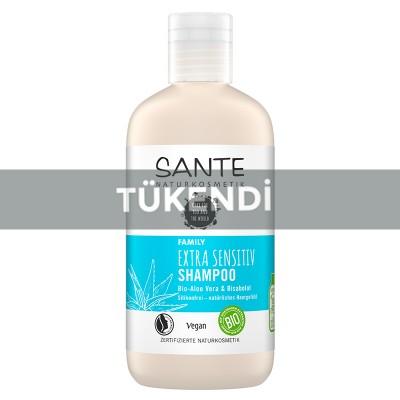Sante - Organik Aşırı Hassas Ciltler İçin Şampuan (Aloe Vera&Bisabolol) 250ml