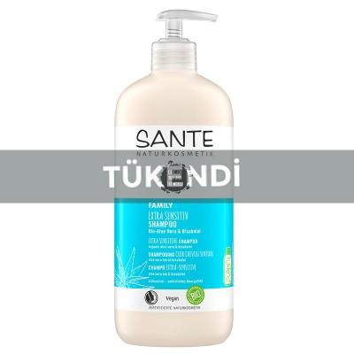Sante - Organik Aşırı Hassas Ciltler İçin Şampuan 500ml (Aloe Vera &Bisabolol)