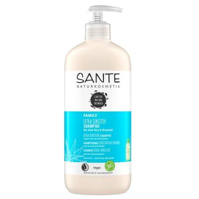 Sante - Organik Aşırı Hassas Ciltler İçin Şampuan (Aloe Vera &Bisabolol)950ml