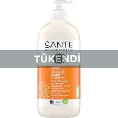 Sante - Organik Güçlendirici Şampuan (Portakal &Hindistan Cevizi ) 500ml