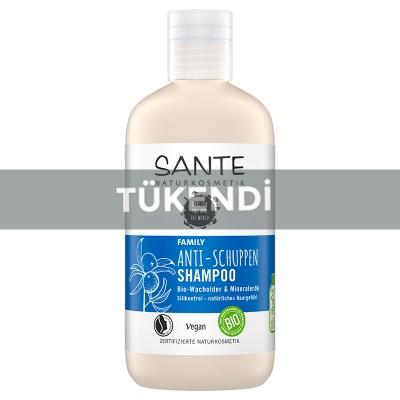 Sante - Organik Kepek Önleyici Şampuan 250ml (Ardıç Yağı&Kil)
