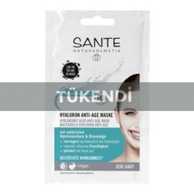 Sante - Organik Yaşlanmayı Geciktirici Hyalüron Maske 2*4ml