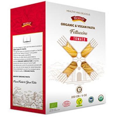 Bemtat - Organik Domatesli Fettuccine Makarna 250gr