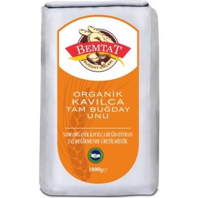 Bemtat - Organik Kavılca Tam Buğday Unu 1kg