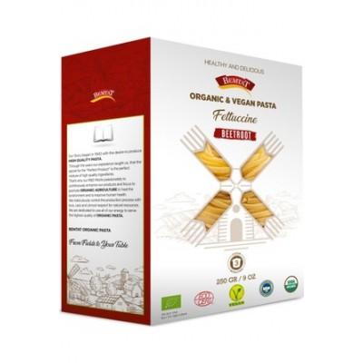 Bemtat - Organik Pancarlı Fettuccine Makarna 250gr