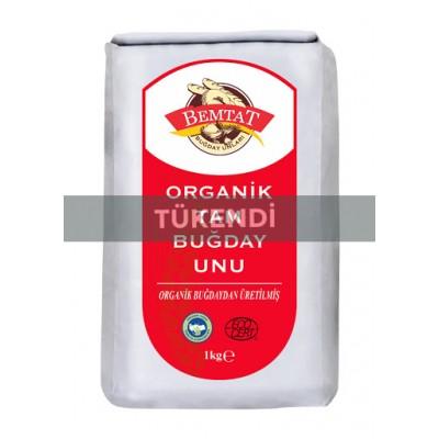 Bemtat - Organik Tam Buğday Unu 1kg