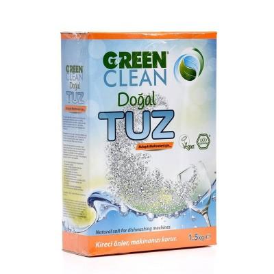 Green Clean - Organik Bulaşık Makinesi Tuzu 1500gr