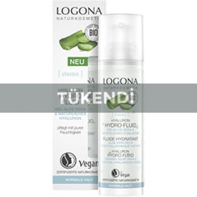 Logona - Organik Hyalüron Hydro Fluid (Aloe Vera & Hyalüronik Asit) 30ml