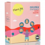 Monn Bio -Organik Yulaflı Ruşeymli Çocuk Bisküvi 100gr