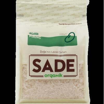 Sade Organik - Organik Pirinç 1Kg