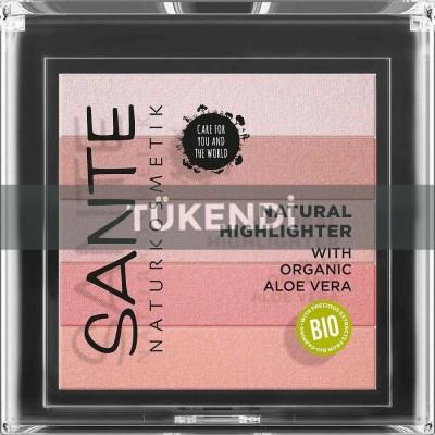 Sante - Organik Aydınlatıcı Gül Rengi (Aloe Vera Özlü)
