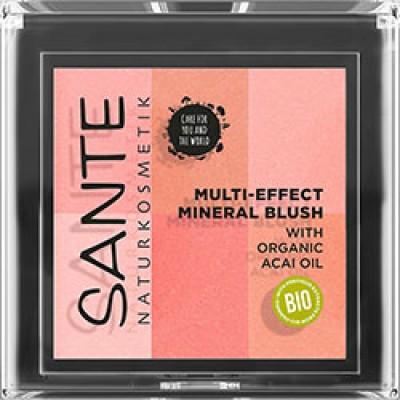 Sante - Organik Çoklu Etkili Allık Mercan ( Açai yağı özlü)