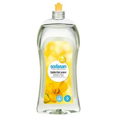 Sodasan - Organik Elde Bulaşık Yıkama Sıvısı (Limon) 1 Litre