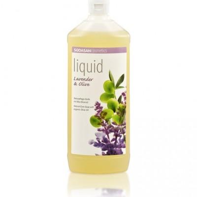 Sodasan -Organik Sıvı Sabun Lavantalı 1 LT
