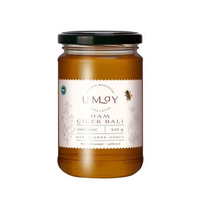 Umay Herbal -Organik Ham Çiçek Balı (Filtre Edilmemiş) 850 gr