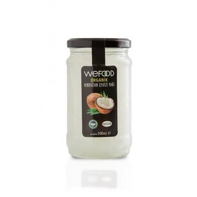 Wefood - Organik Hindistan Cevizi Yağı 300ml