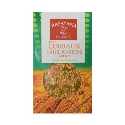 Rasayana - Organik Çorbalık Tahıl Karışımı (Tane) 500 gr