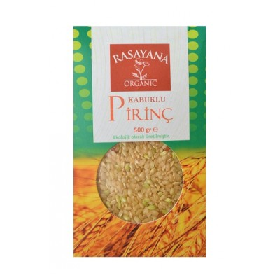 Rasayana - Organik Kabuklu Pirinç 500 gr