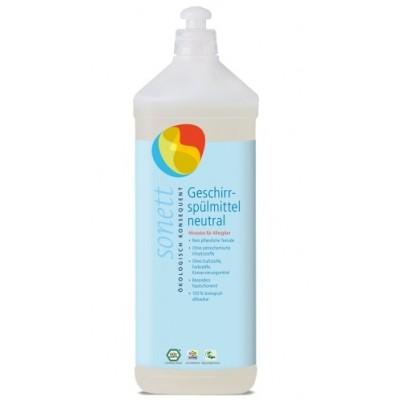 Sonett - Organik Nötral Elde Bulaşık Yıkama Sıvısı 1 Litre