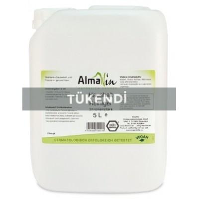 Almawin - Organik Elde Bulaşık Yıkama Sıvısı (Limon) 5Litre