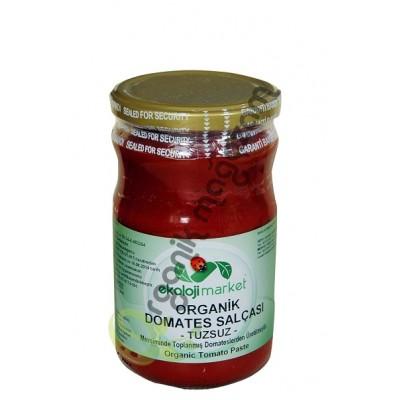 Ekoloji Market - Organik Tuzsuz Domates Salçası 660 gr