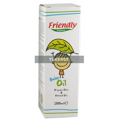 Friendly Organic - Organik Bebek Yağı 100ml