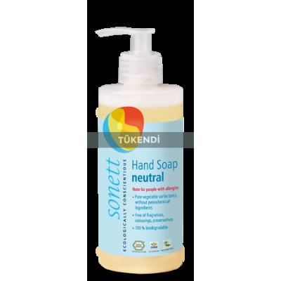 Sonett - Organik Nötral Sıvı El Sabunu 300 ml