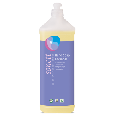 Sonett - Organik Sıvı El Sabunu Lavanta 1 Litre