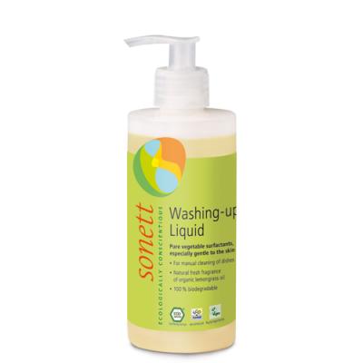 Sonett - Organik Elde Bulaşık Yıkama Sıvısı - Limonotlu 300 ml