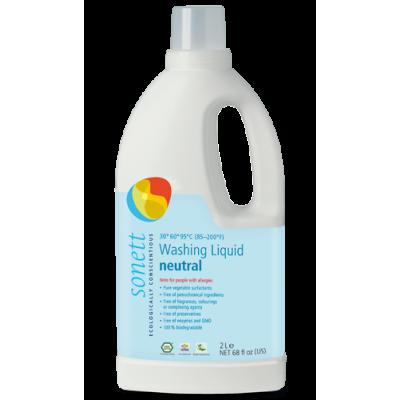 Sonett - Organik Nötral Çamaşır  Yıkama Sıvısı 2 Litre