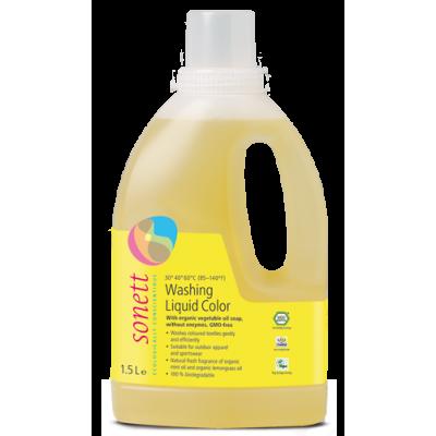 Sonett - Organik Renkliler için Yıkama Sıvısı 1,5 Litre