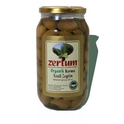 Zertum - Organik Kırma Zeytin 1000 gr