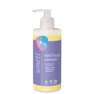 Sonett - Organik Sıvı El Sabunu Lavanta 300 ml