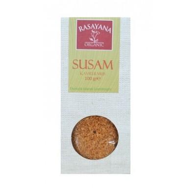 Rasayana - Organik Susam (Kavrulmuş) 100 gr