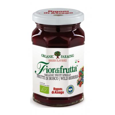 Rigoni di Asiago - Organik Kırmızı Orman Meyveleri Püresi 250 gr