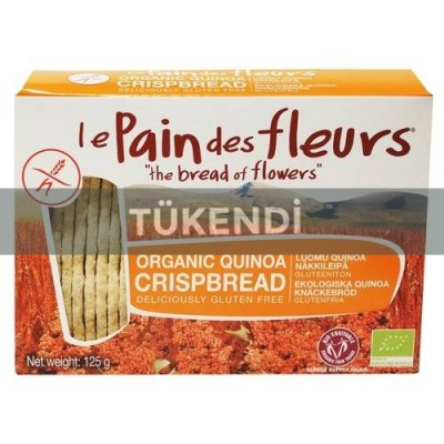 Le Pain Des Fleurs - Organik Kinoalı Kraker 125 gr