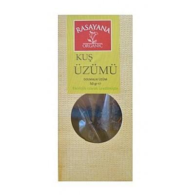 Rasayana - Organik Kuş Üzümü (Dolmalık üzüm) 50 gr