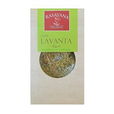Rasayana - Organik Çiçek Lavanta 50 gr