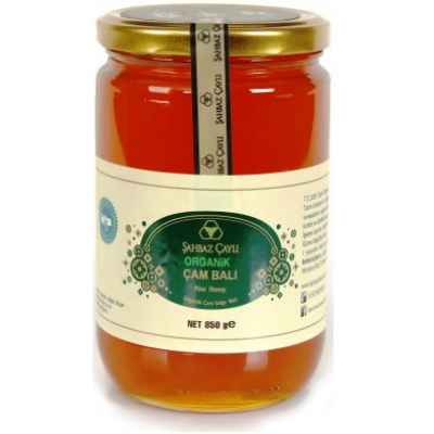 Şahbaz Çaylı - Organik Çam Balı 850 gr