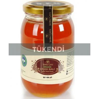 Şahbaz Çaylı - Organik Çiçek Balı 450 gr
