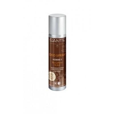 Sante - Organik Deosprey Kafein ve Acai Özlü (Sıkıştırılmış gaz içermez) 100 ml