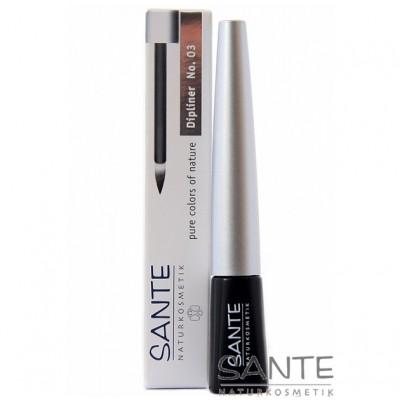 Sante - Organik Sıvı Eyeliner-Siyah 3 ml