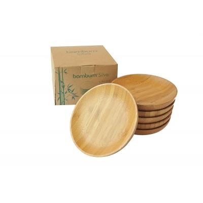 Bambum - Silva 6'lı Çay Tabağı