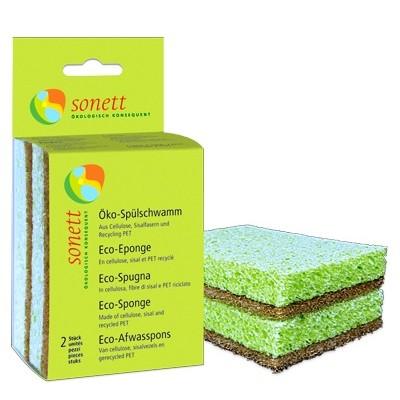 Sonett - Eko Bulaşık Süngeri 2'li Paket