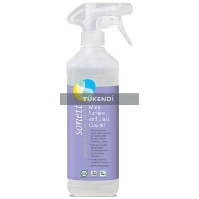 Sonett - Organik Çok Amaçlı Yüzey ve Cam Temizleyici 500 ml