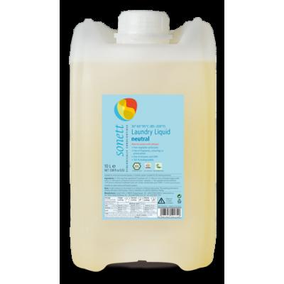 Sonett - Organik Nötral Çamaşır Yıkama Sıvısı 10 Litre