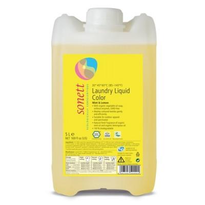 Sonett - Organik Renkliler için Yıkama Sıvısı 5 Litre